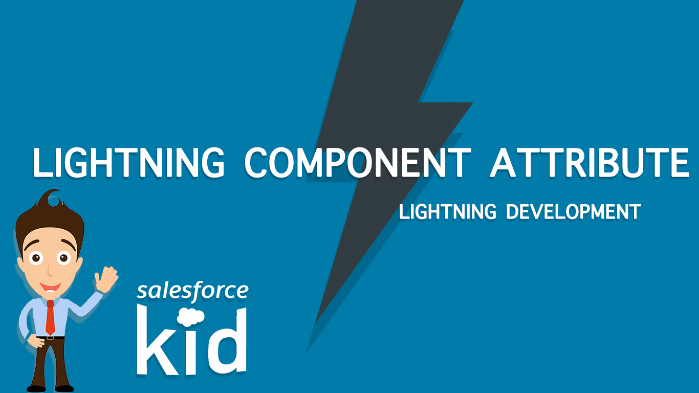 Salesforce Lightning Component Attribute