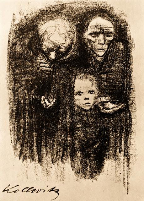 Käthe Kollwitz, Bettelnde (1924)