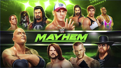 WWE Mayhem Mod Apk + Data v1.3.23 Unlimited Money Terbaru