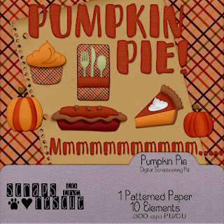 Pumpkin Pie Digital Mini Kit