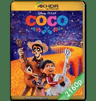 COCO (2017) 4K 2160P HDR MKV ESPAÑOL LATINO