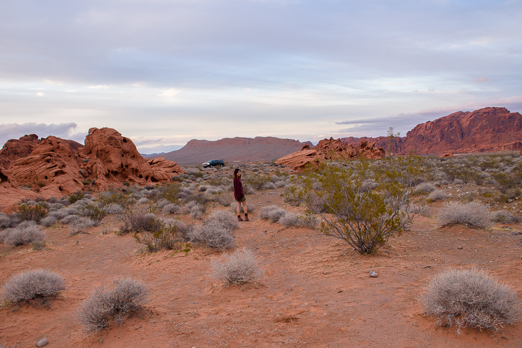 where to go in nevada USA valley of fire state park