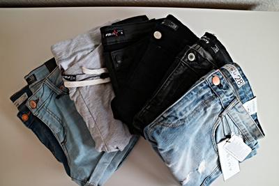 Shoppingausbeute | Januar - www.josieslittlewonderland.de , haul, new yorker, jeans, ripped jeans, leather pants, amisu, fishbone sister, new yorker haul, jeans shorts