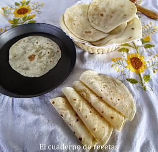 Tortillas de harina (Cocina mexicana)