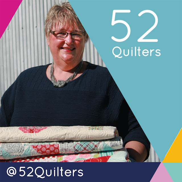 Guest Hosting on 52 Quilters by Thistle Thicket Studio. www.thistlethicketstudio.com
