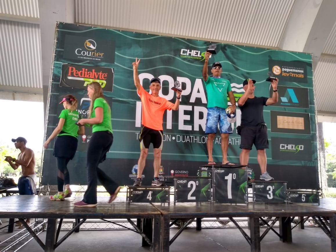 Barretense leva primeiro lugar em etapa da Copa Interior de Triathlon em Itatiba