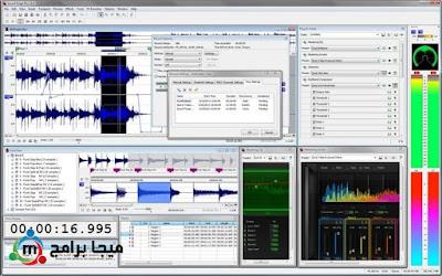 تحميل برنامج Sound Forge Pro للتعديل على الصوت