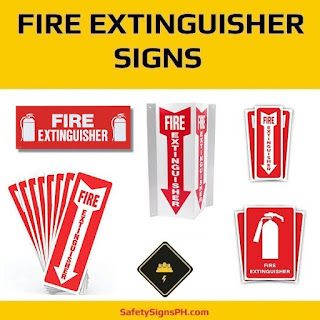 Fire Extinguisher Signs Philippines