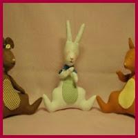 Conejo, ratón y ardilla Tilda
