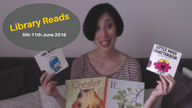 Library Reads: 5th-11th June 2016