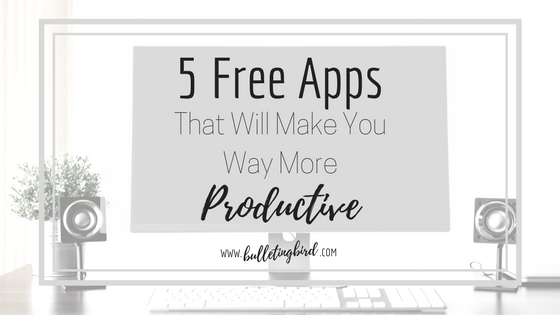 PRODUCTIVITY SERIES: 2: 5 Free Apps That Will Make You Way More Productive [Bitesize]