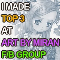 Top 3 Winner - Art By Miran Facebook Group