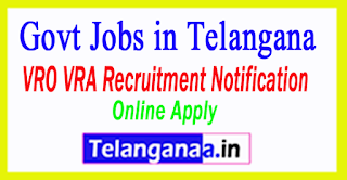 Telangana (TS) VRO VRA Notification 2017 Apply Online