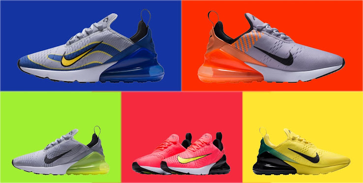 closer at cozy fresh top design Nike 1998, 2002, 2006, 2010 and 2014 Air Max 270 Mercurial ...