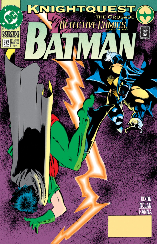 Detective Comics (1937) 672 Page 1