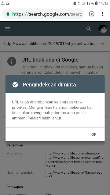 Cara submit Link ke Google Search Console Versi Baru