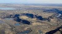 Vista aérea de Dry Falls