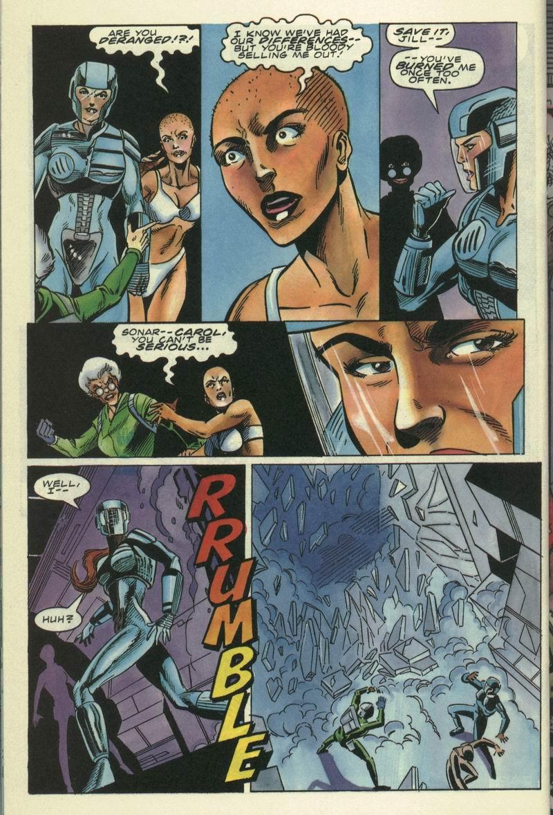 Read online Secret Weapons comic -  Issue #17 - 19