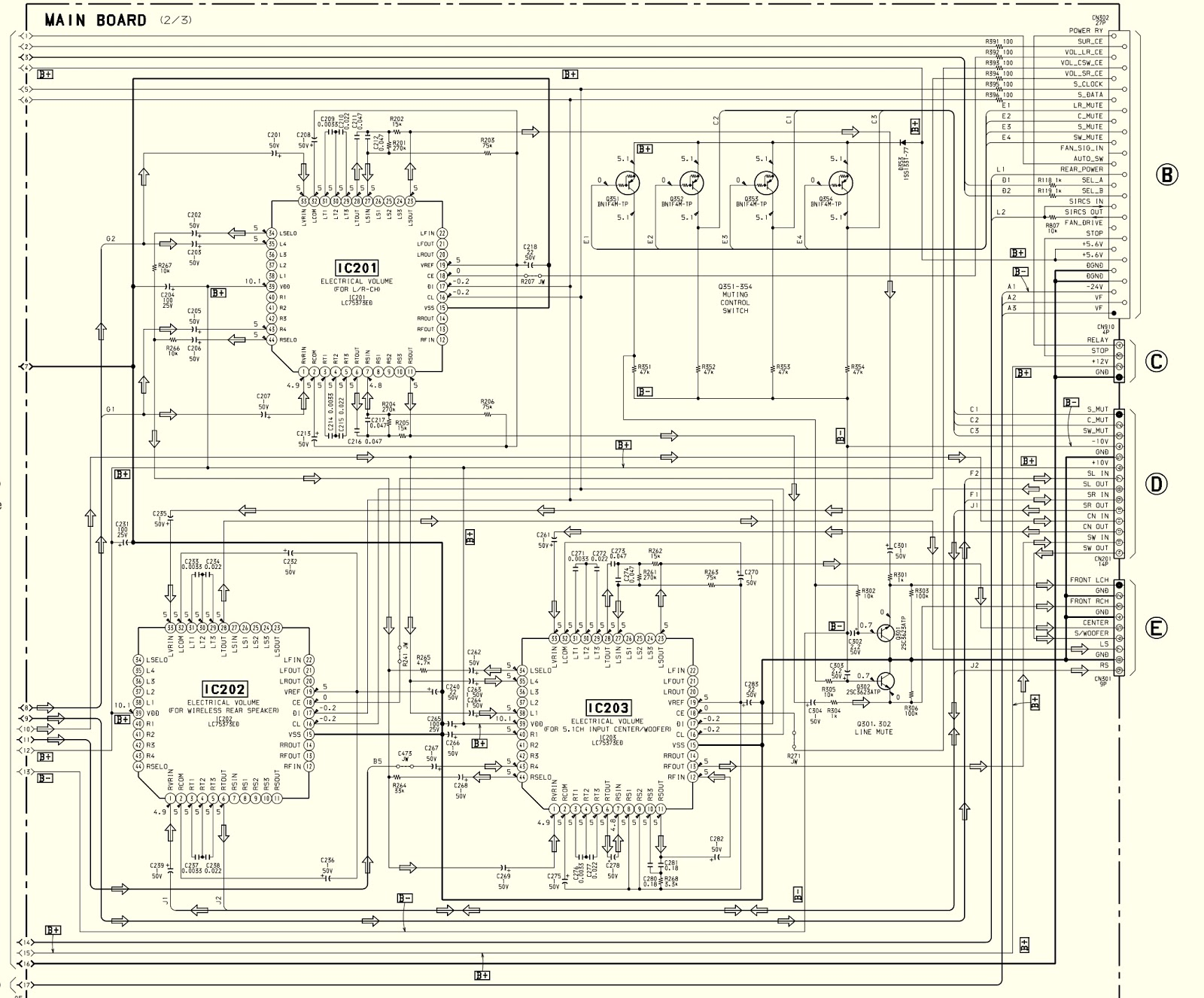 7 1 home theater circuit diagram 1990 ford fuel system sony sava 500 test mode  schematic