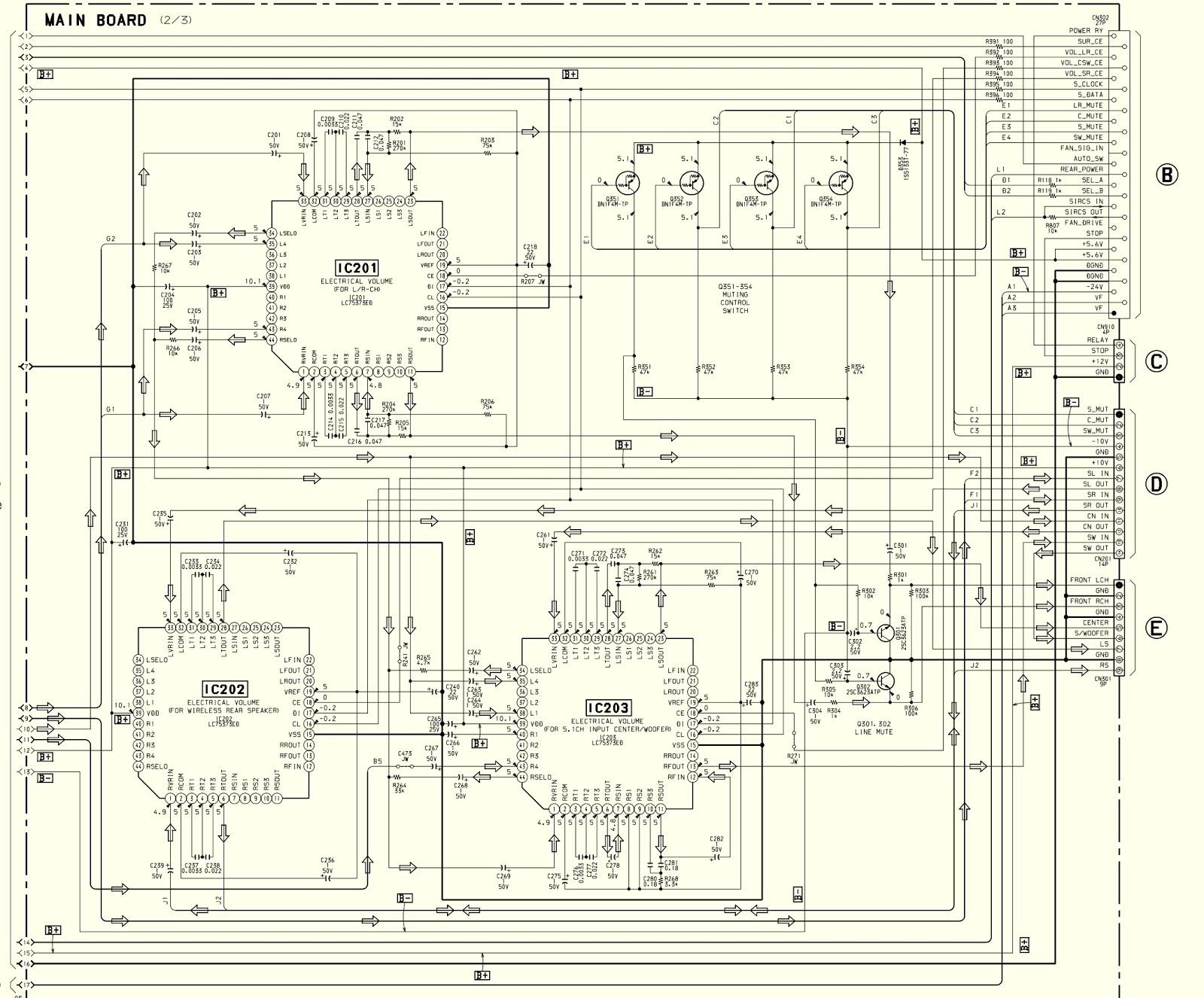 Electro Help  Sony Sava 500 Test Mode  U2013 Schematic Diagram
