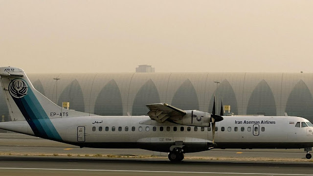 Airliner crashes in Iran, 66 people are killed: Aseman Airlines