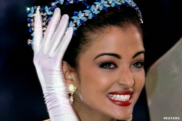 Rai as miss world aishwarya
