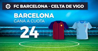 Paston Megacuota Barcelona vs Celta 22 diciembre