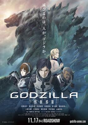 Godzilla 1: Kaijuu Wakusei Subtitle Indonesia