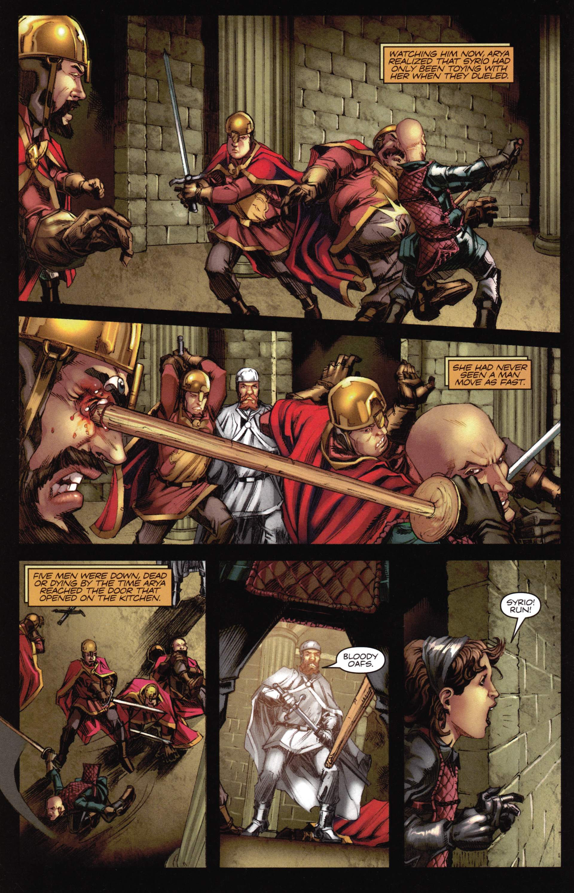 Read online A Game Of Thrones comic -  Issue #16 - 18