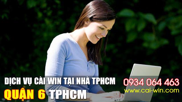Cửa hàng cài đặt win XP 7 8 10 tại quận 6 TPHCM