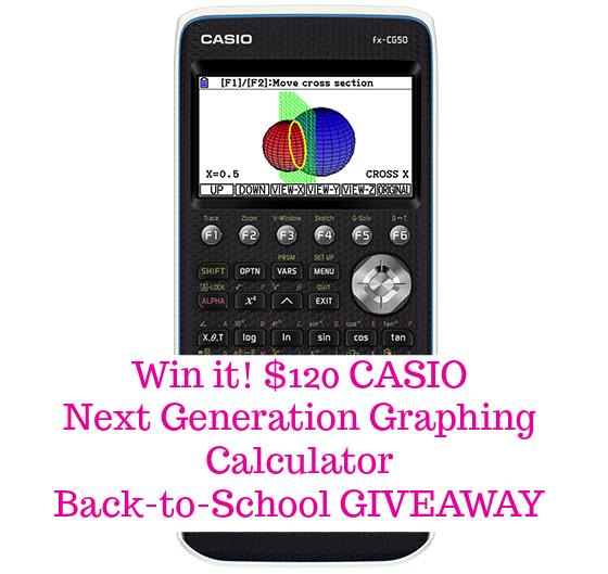 back to school must have, must have tech for learning, gadgets that every backpack needs, back to school giveaway, back to school freebie, freebies for moms, casio graphing calculator giveaway