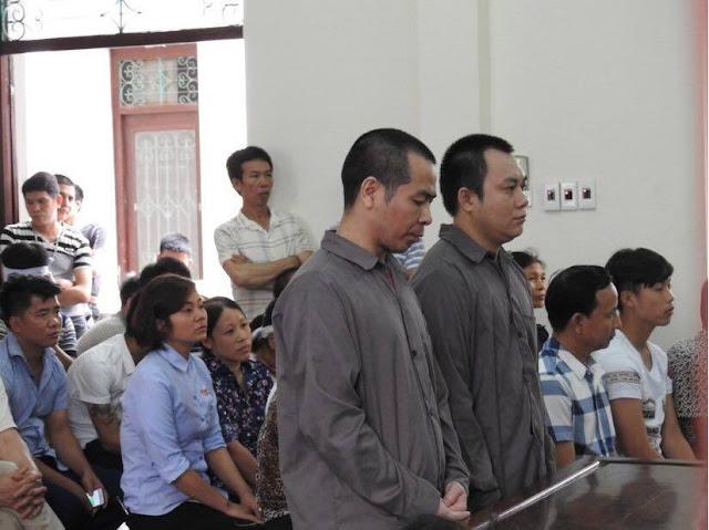 2 tài xế tại phiên tòa