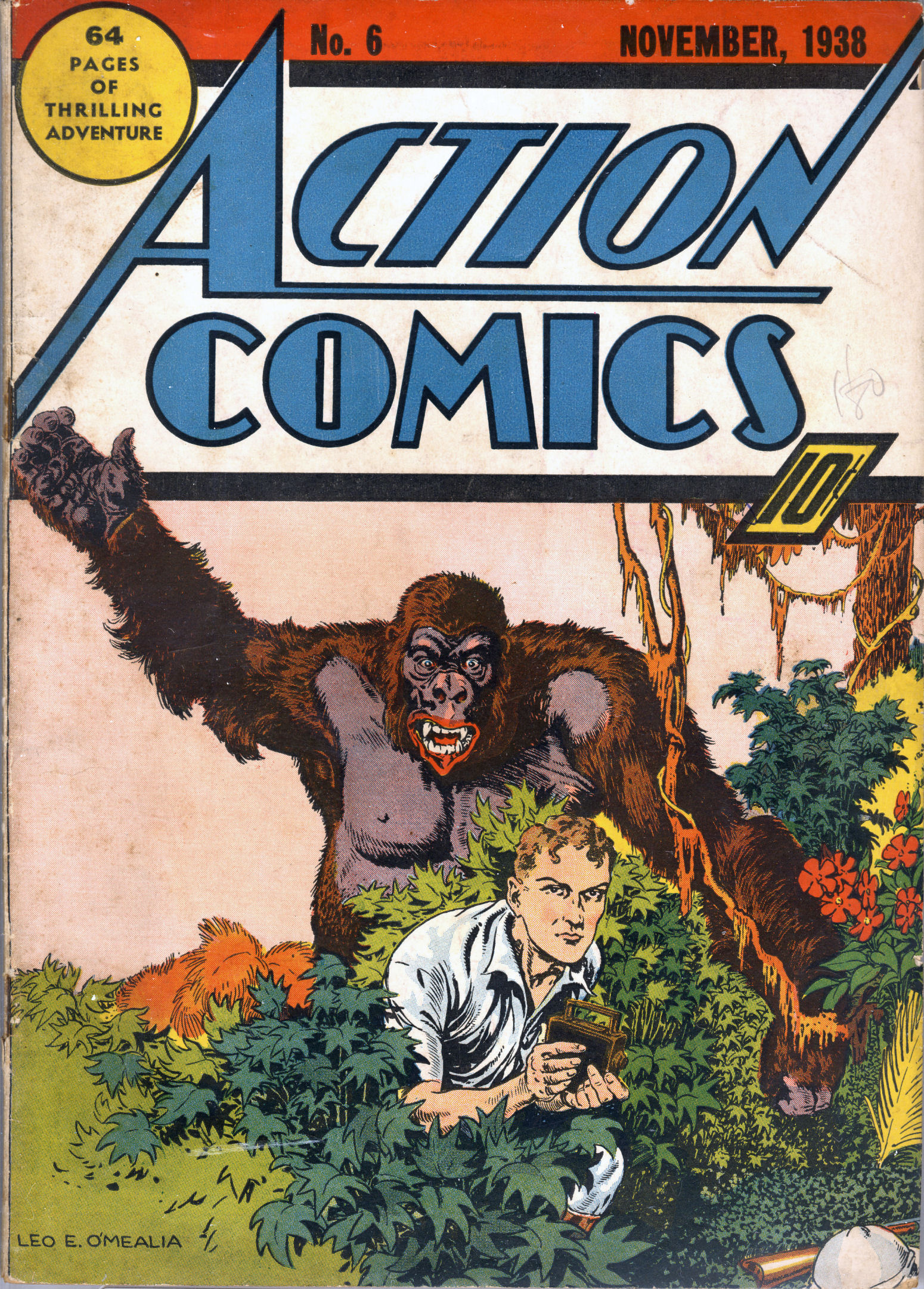 Read online Action Comics (1938) comic -  Issue #6 - 2