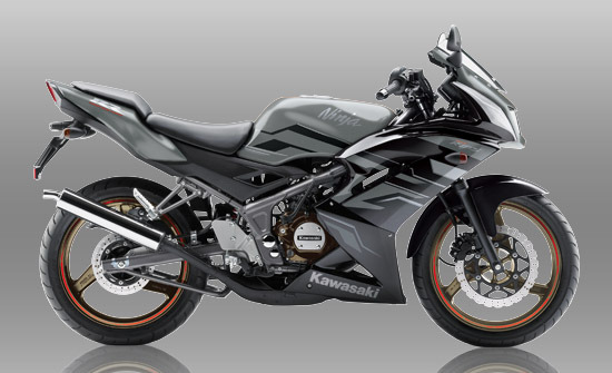 Warna dan striping baru Kawasaki Ninja 150RR 2015 . . . ada pilihan warna baru !