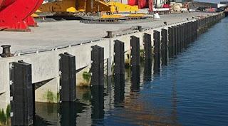 cara pemasangan karet fender dermaga pelabuhan