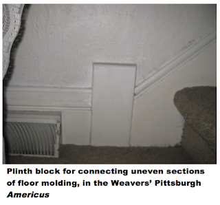 plinth block connecting molding in sears house