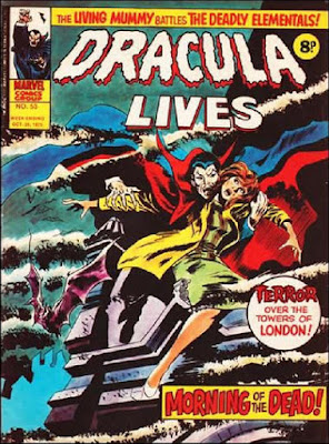 Marvel UK, Dracula Lives #53