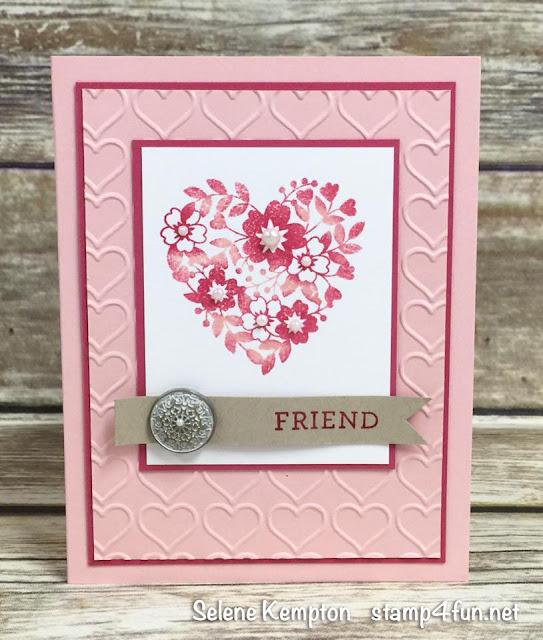 create with selene january card class  featuring the