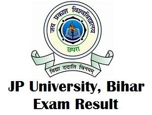 JP University Chapra Result 2018
