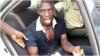 Man Rescued From Committing Suicide At Ogun River in Abeokuta (Photos)