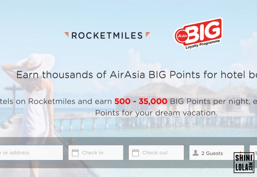 TRAVEL WITH AIRASIA BIG & ROCKETMILES