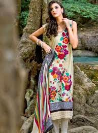 Gul-Ahmed EID-UL-FITR Royal Outfits Collection 2015 fashionwearstyle.com