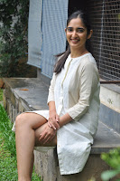 Radhika Cute Young New Actress in White Long Transparent Kurta ~  Exclusive Celebrities Galleries 053.JPG