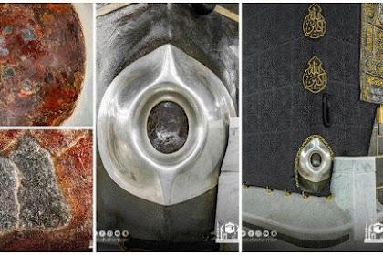 Penampakan Foto Close Up Hajar Aswad di Tahun 2021