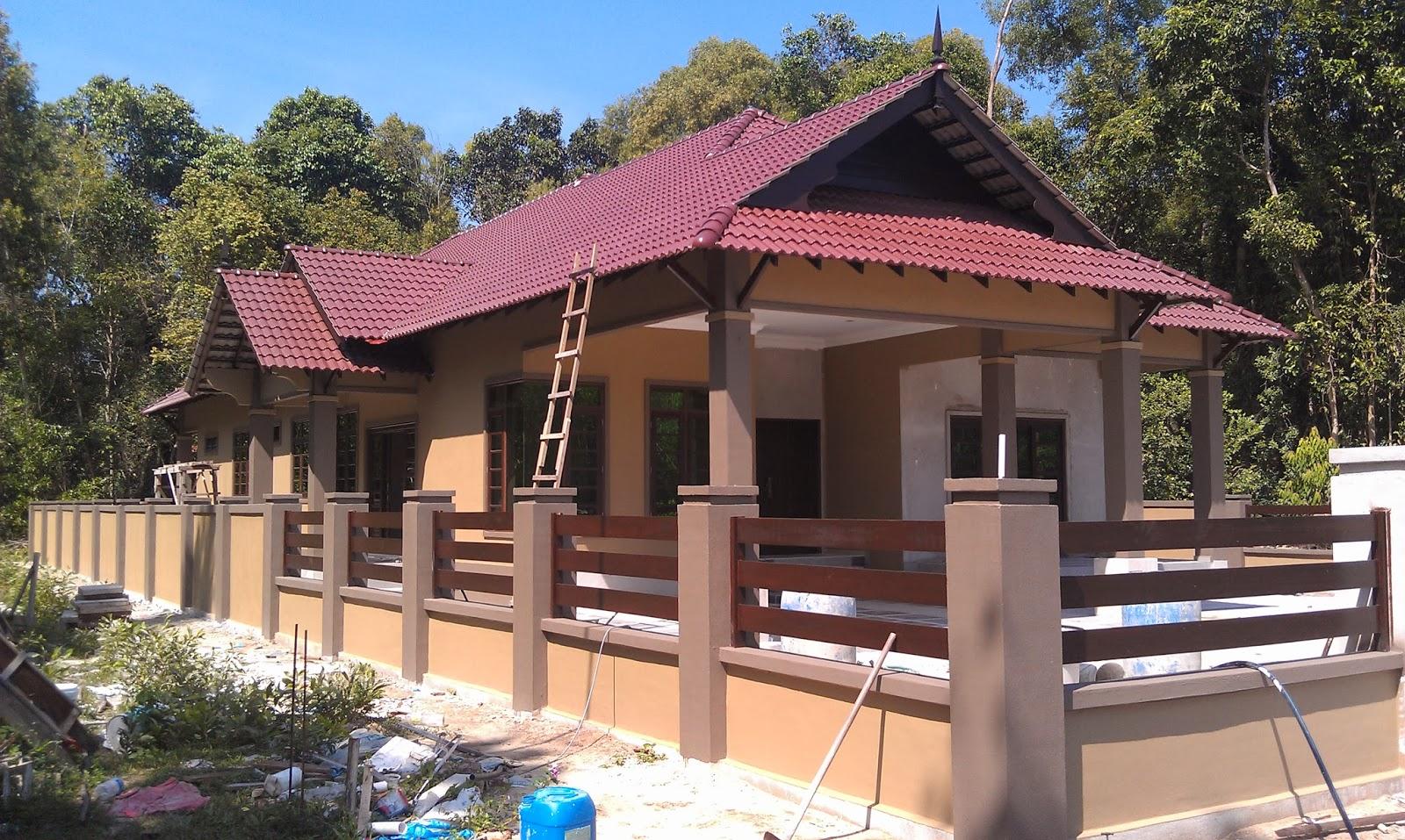 Pandangan Rumah Selepas Siap Kerja Mengecat