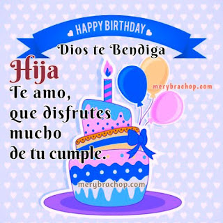 Feliz Cumpleaños Hija 8