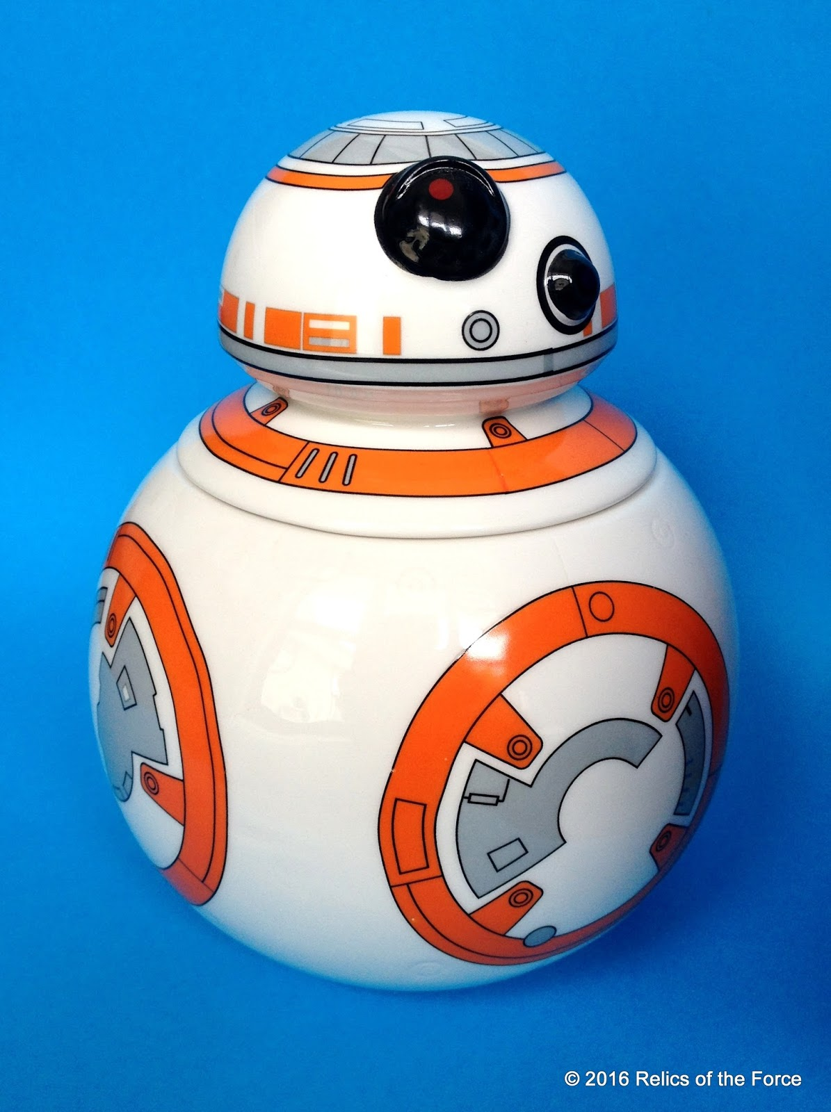 Relics of the force december 2016 - Stormtrooper cookie jar ...