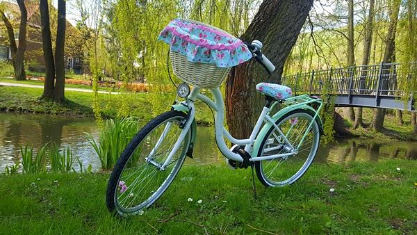 rower dekoracje