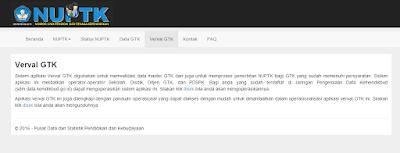 Tata Cara Pengajuan NUPTK Baru Melalui Verval GTK Lengkap