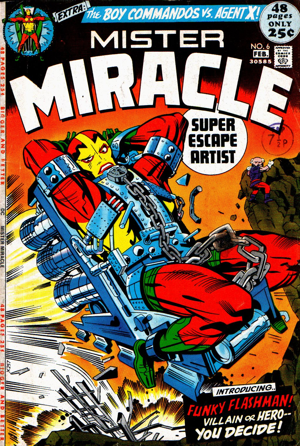 Mister Miracle (1971) issue 6 - Page 1